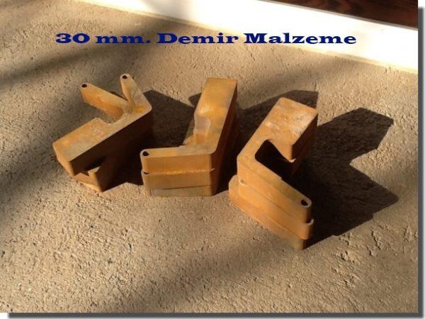 30 mm demir